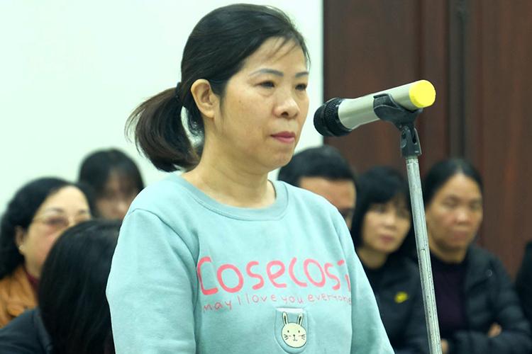 Bị cáo Nguyễn Bích Quy.