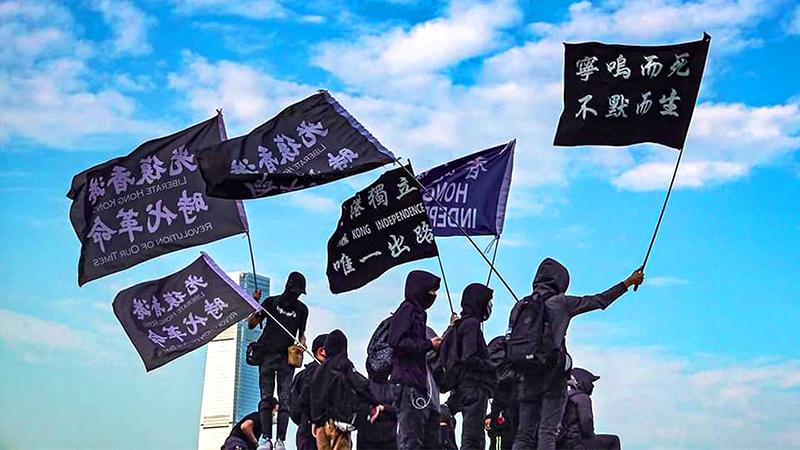 """Sinh viên Trung Quốc ủng hộ Hồng Kông: """"Khi ngọn lửa dân chủ lan sang Đại lục, nhất định sẽ dũng cảm đứng lên"""" (ảnh 1)"""
