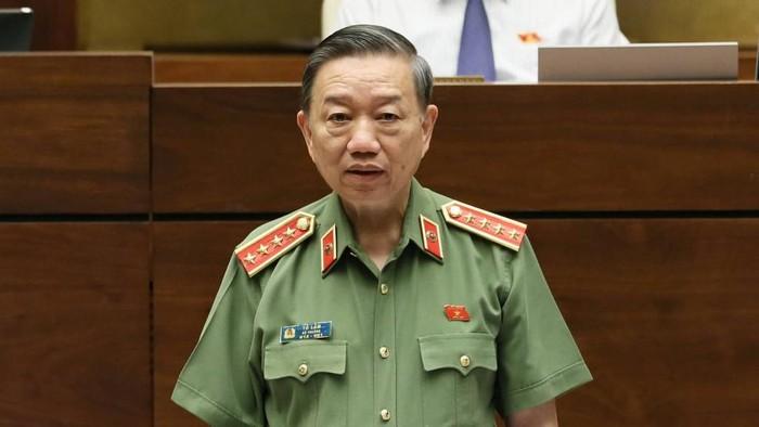Bộ trưởng Tô Lâm Việc lực lượng Công an giữ lại 70% tiền xử phạt là đúng luật-ảnh 1
