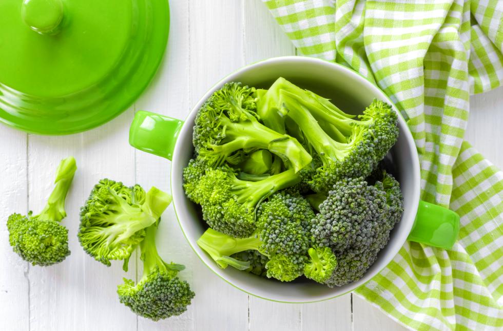 mầm bông cải xanh và các loại rau họ cải khác có thể làm giảm đáng kể nguy cơ mắc bệnh ung thư.