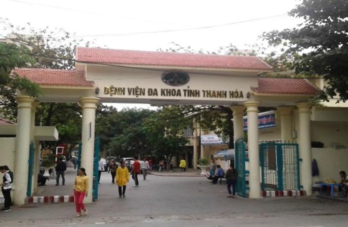 Bệnh viện Đa khoa tỉnh Thanh Hóa nơi tiếp nhận thêm 2 trường hợp nghi nhiễm virus Corona. (Ảnh qua nld)