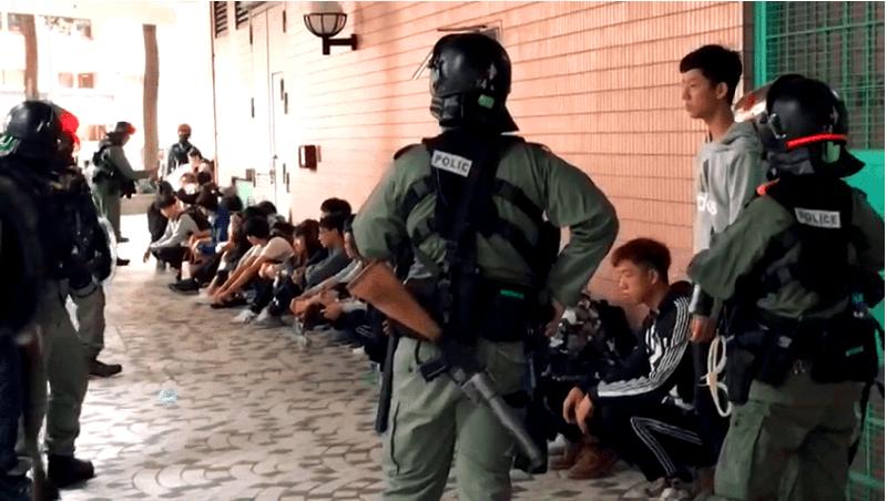 Cảnh sát HK bắt người bừa bãi vào năm mới khiến người nhà phải cực khổ tìm kiếm (ảnh 2)