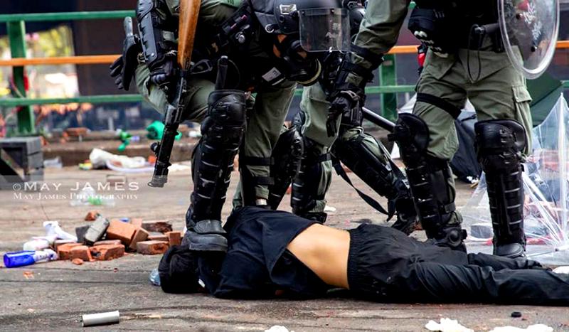 Cảnh sát Đại lục thay đổi thân phận để 'né' dự luật nhân quyền Hồng Kông (ảnh 4)