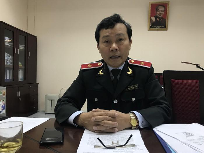 Chánh Thanh tra Bộ NN&PTNT Nguyễn Văn Tiến. (Ảnh qua news)