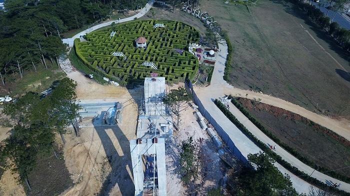 Đà Lạt Sử dụng 27 lao động Trung Quốc để xây dựng cầu kính trái phép-ảnh 4