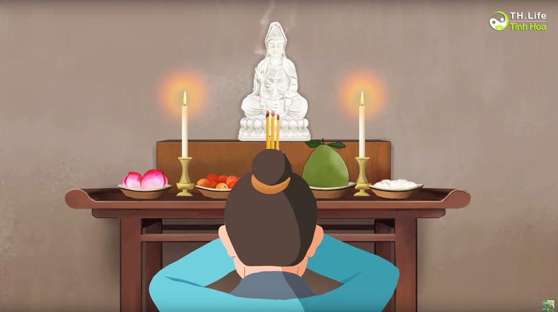 Từ đó Trịnh Quân mới chân chính kính Phật, một lòng hướng Thiện, không dám mong cầu điều bất hảo với Bồ Tát nữa.