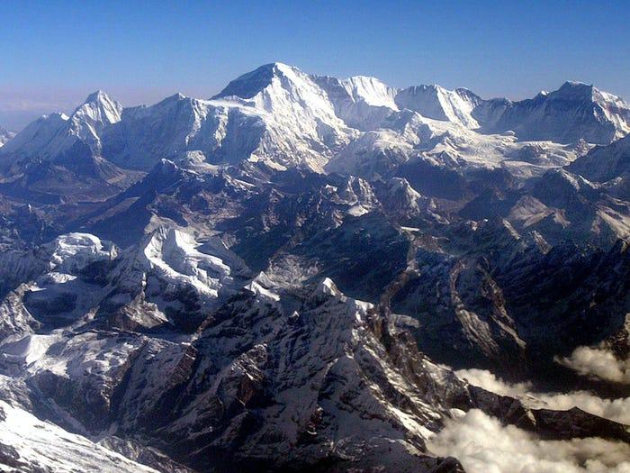 Ngọn núi khét tiếng nằm ở phía biên giới Nepal-Trung Quốc. (Ảnh:)