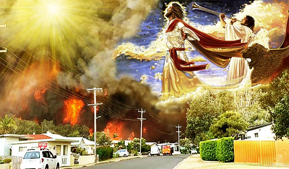 Tai họa xảy ra liên miên, phải chăng giai đoạn này chính là đang ứng nghiệm với lời tiên tri về đại nạn đầu tiên, hỏa thiêu đối với cây cỏ, côn trùng, chim chóc và thú vật trên mặt đất?
