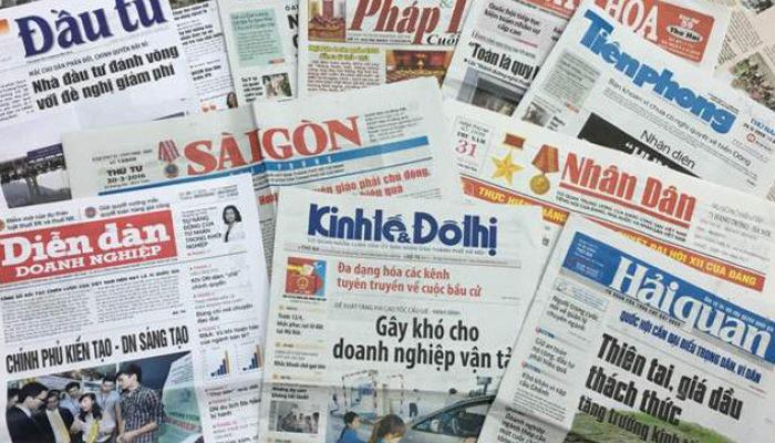 Hà Nội giảm 10 cơ quan báo chí trong năm 2020. (Ảnh qua vneconom)