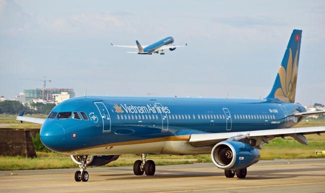 Hãng hàng không Vietnam Airlines.