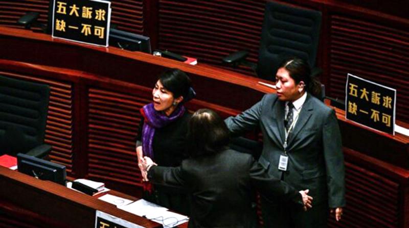 """Nghị viên Hồng Kông chế giễu Lâm Trịnh: """"Thái Anh Văn cũng phải cảm ơn bà"""" (ảnh 4)"""
