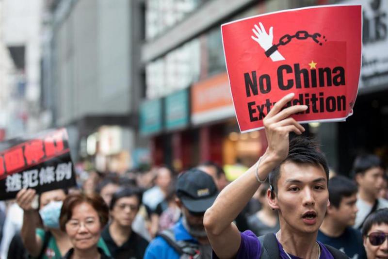 """Sự thay đổi đột ngột ở Hồng Kông năm 2019 đã khai hỏa phát súng đầu tiên, """"Trời diệt Trung Cộng"""" đã không còn là chuyện xa vời."""