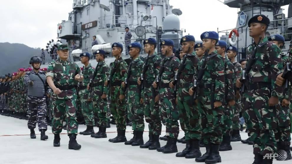 Indonesia tăng cường tuần tra xung quanh quần đảo Natuna nằm phía nam Biển Đông.
