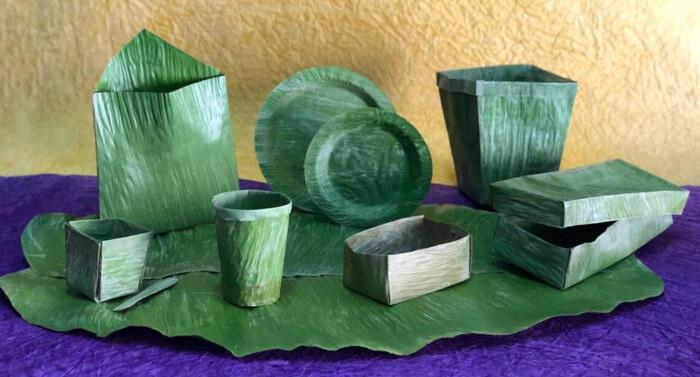 Ấn Độ: Chàng trai phát minh ra công nghệ dùng lá chuối để thay thế cho nhựa