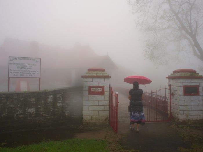Làng Mawsynram tại Ấn Độ là nơi ẩm ướt nhất thế giới.