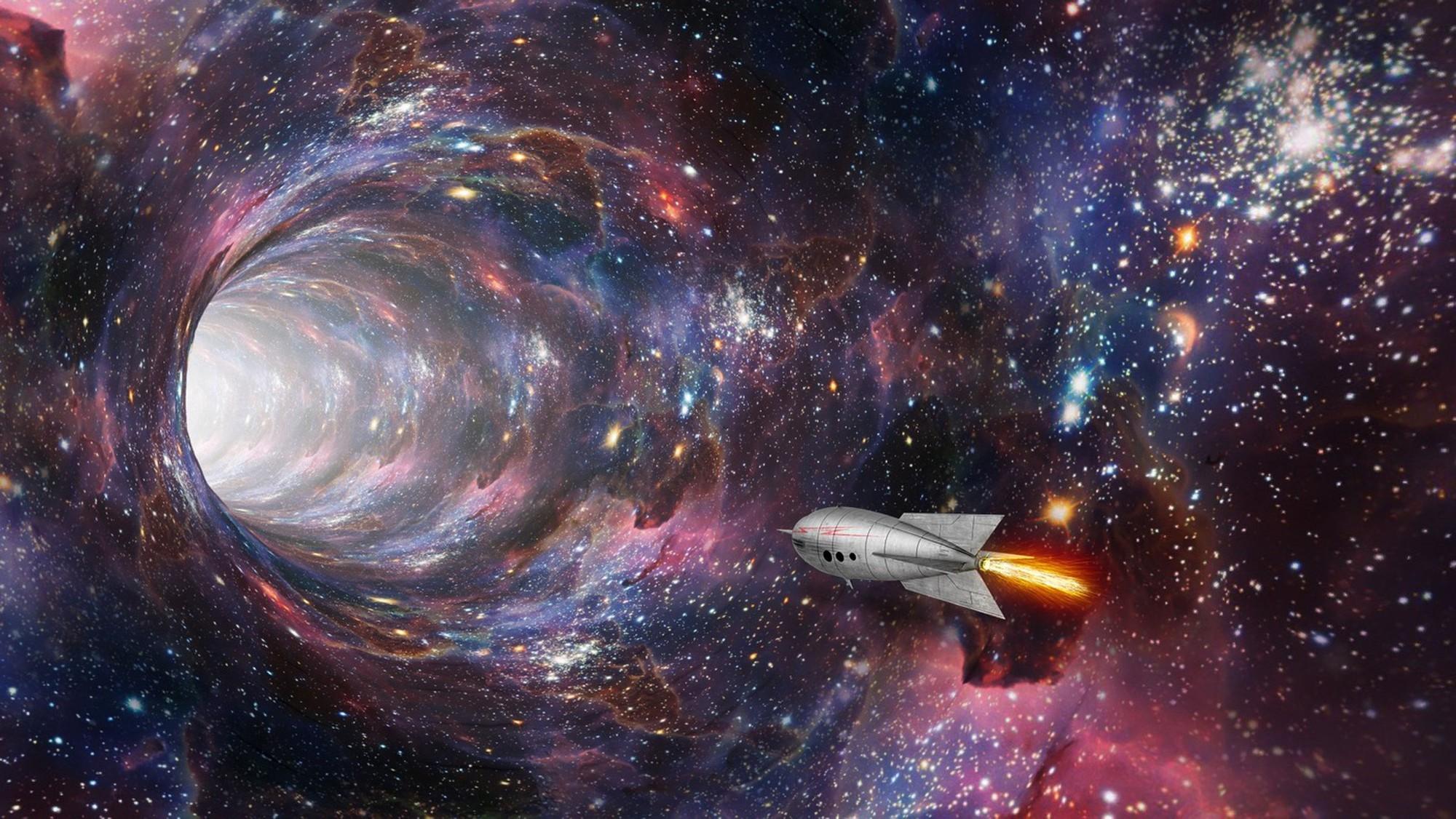 chúng ta hoàn toàn có thể du hành xuyên không gian trong vũ trụ chỉ cần chọn được đúng loại lỗ đen.