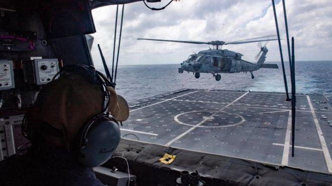 Mỹ điều tàu chiến tuần tra tự do hàng hải gần Đá Gạc Ma và Đá Chữ Thập-2