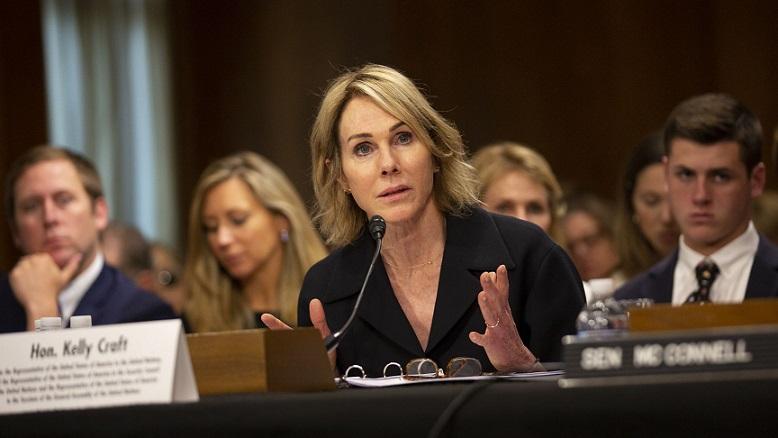 Trong thư gửi Hội đồng Bảo an Liên Hợp Quốc hôm 8/1, đại sứ Mỹ tại LHQ, Kelly Craft cho biết