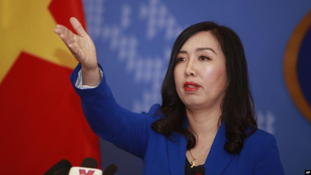 Phát ngôn viên Bộ Ngoại giao Việt Nam Lê Thị Thu Hằng.