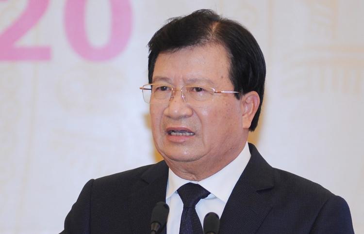 Phó thủ tướng Trịnh Đình Dũng. (Ảnh qua vnexpress)