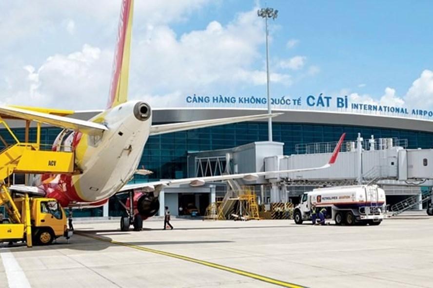 Sân bay Cát Bi (Hải Phòng). (Ảnh qua laodong)