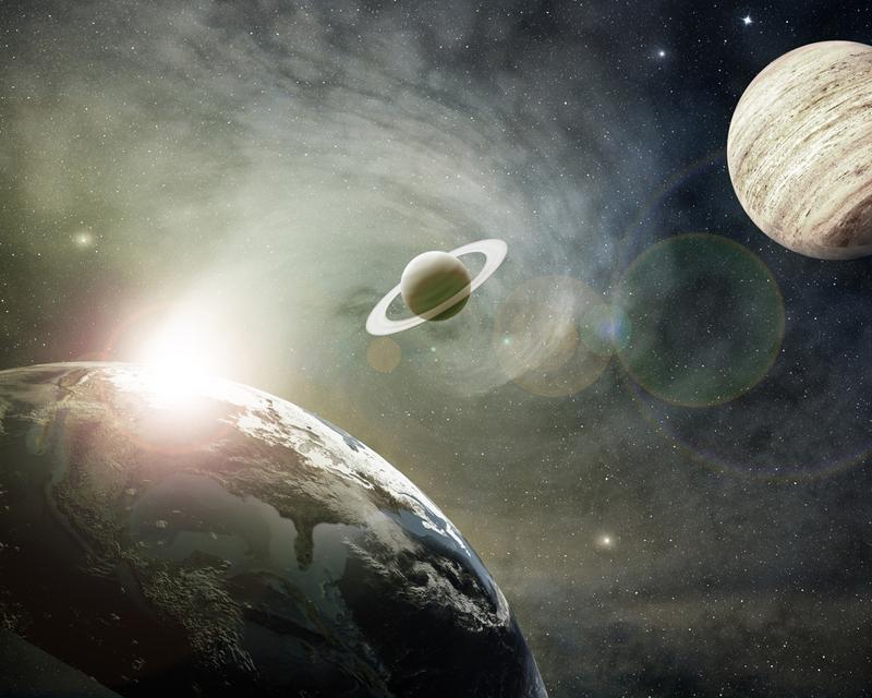 Ba hành tinh Thổ, Mộc và trái đất hội tụ ở chu kỳ đường Ngân Nhật tuyến, đó chính là 60 năm luân hồi 1 lần. Khi hai hành tinh này cũng chuyển động đến đường Ngân Nhật tuyết thì sẽ không còn hữu hảo với người em trái đất nhỏ bé nữa.