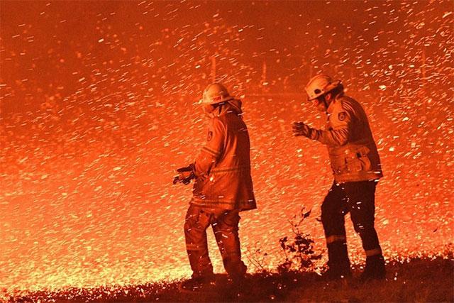 Thảm họa cháy rừng tại Úc nhìn từ không gian ngoài Trái Đất - ảnh 8