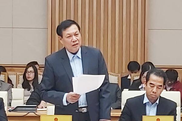 Thứ trưởng Bộ Y tế Đỗ Xuân Tuyên.