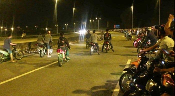 TP HCM Chặn nhóm 'quái xế' đua xe, một Trung úy công an bị tông thiệt mạng-2