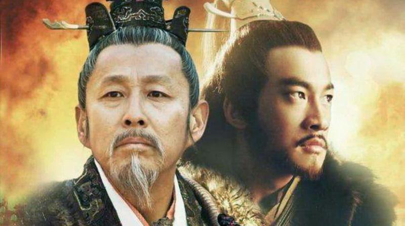 Tạo hình nhân vật Lưu Bang và Hạng Vũ trên phim ảnh.