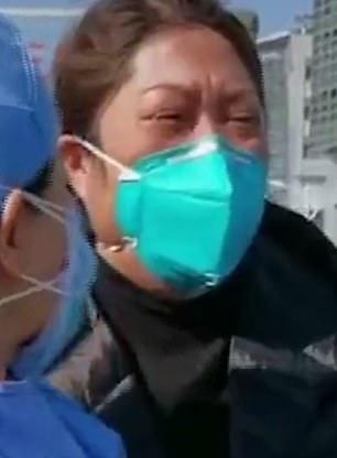 Thái Lợi Bình - vợ của bác sĩ Lưu Trí Minh c
