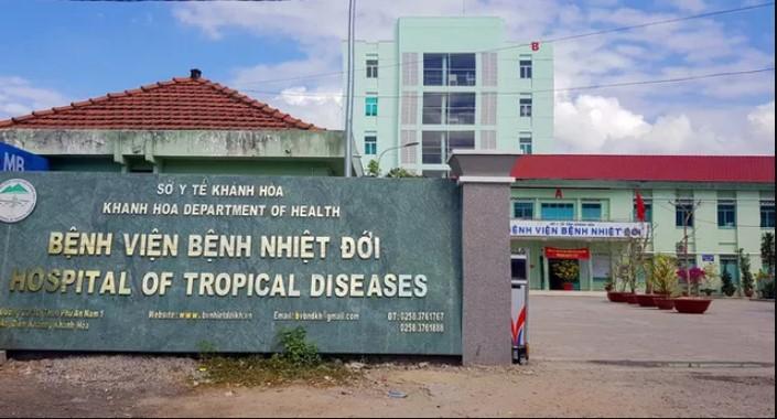 Bệnh viện Bệnh nhiệt đới tỉnh Khánh Hoà, nơi điều trị cho bệnh nhân nhiễm virus Covid-19. (Ảnh qua Zing)