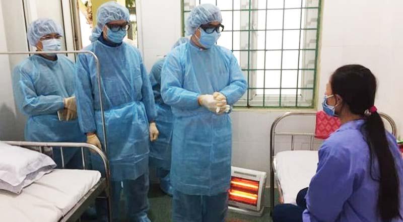 Ca bệnh thứ 16 dương tính với virus corona tiếp tục tại Vĩnh Phúc. (Ảnh qua tienphong)