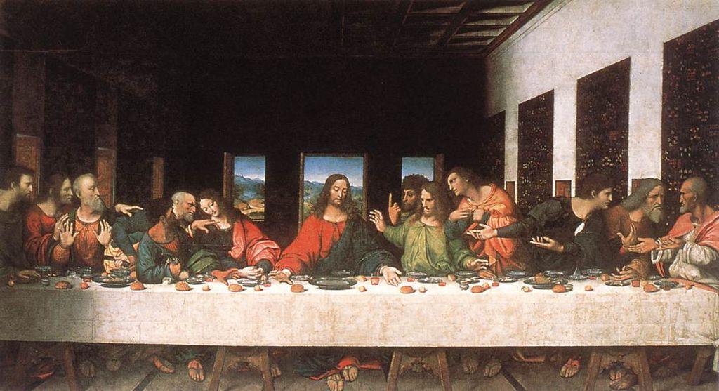 'Bữa ăn tối cuối cùng' cho đến nay vẫn còn được lưu giữ dù đã trải qua không ít những thảm họa trong quá khứ.