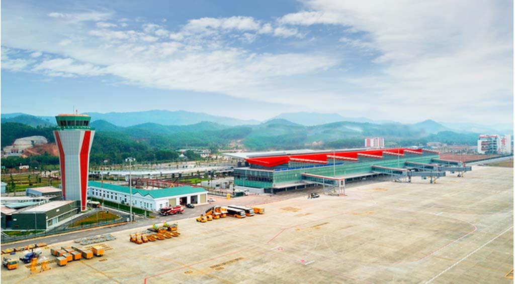 Cảng Hàng không quốc tế Vân Đồn là lựa chọn số 1 để đón công dân Việt Nam trở về từ 'tâm dịch' corona Trung Quốc. (Ảnh qua thanhnien)