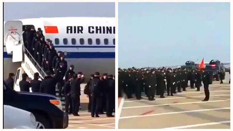 Chính quyền TQ điều động khẩn cấp một lượng lớn cảnh sát đến hỗ trợ Vũ Hán (ảnh 1)