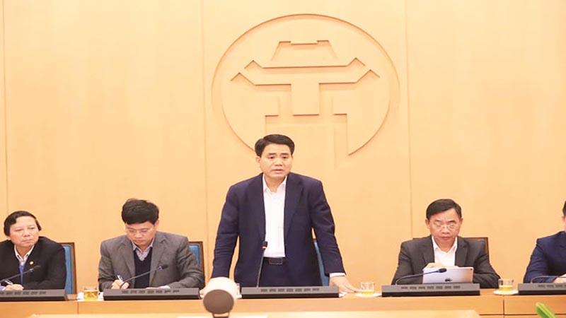 Chủ tịch TP. Hà Nội Nguyễn Đức Chung. (Ảnh qua giadinh)