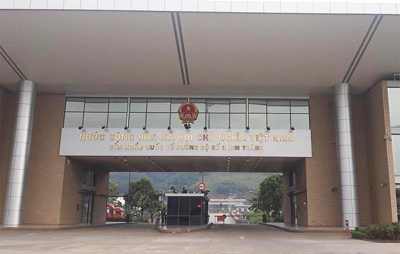 Cửa khẩu quốc tế đường bộ số II Kim Thành, Lào Cai.