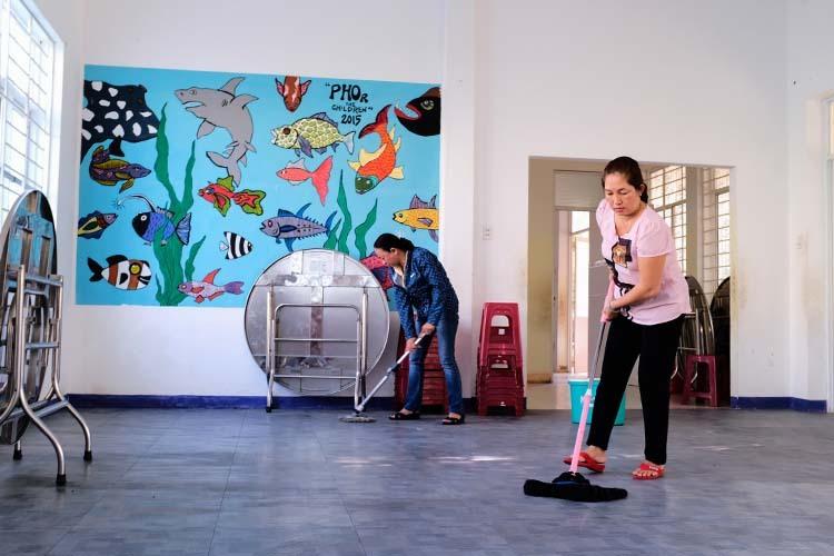Đà Nẵng Trung tâm trại trẻ mồ côi cho 50 trẻ 'về nhà' để tránh dịch covid-19 2