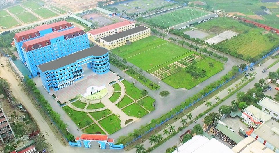 Đại học Thành Đô sẽ được trưng dụng làm bệnh viện dã chiến nếu dịch bệnh bùng phát. (Ảnh qua thanhdo)