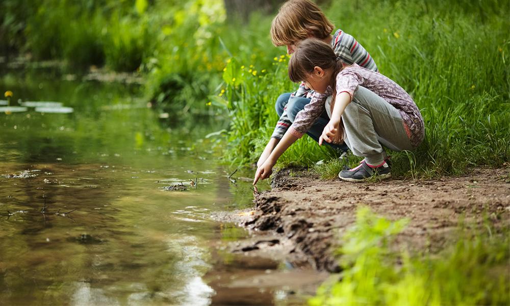 Đi bộ ngoài trời có thể cải thiện ADHD ở trẻ em