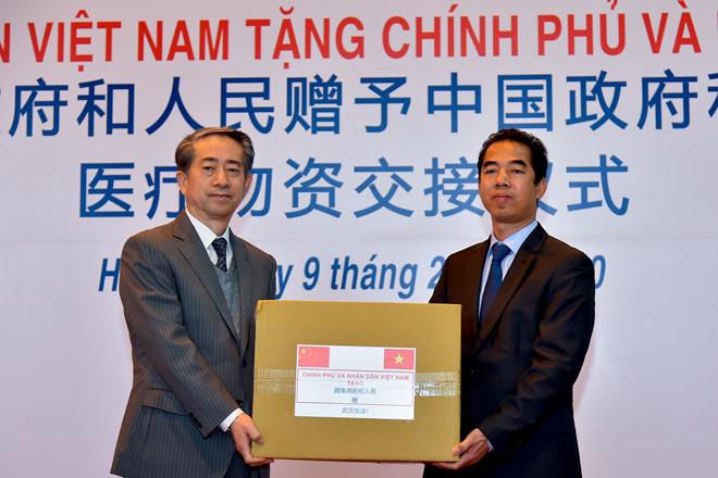 """Dịch virus corona Việt Nam tiếp tục viện trợ các trang thiết bị y tế """"tốt nhất"""" cho TQ-ảnh 3"""
