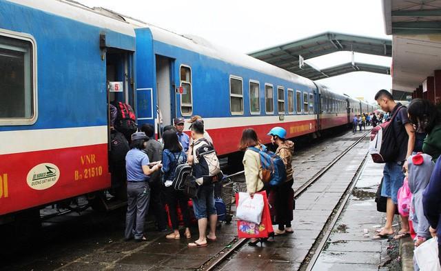 Đường sắt có thể phải dừng hoạt động chạy tàu toàn quốc. (Ảnh qua tienphong)