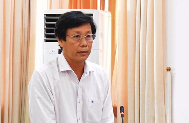 BS Cao Minh Chu, Giám đốc Sở Y tế Cần Thơ, cho biết Cần Thơ cách ly 6 người về từ vùng tâm dịch Covid-19, thành phố Daegu của Hàn Quốc . (Ảnh qua thanhnien)