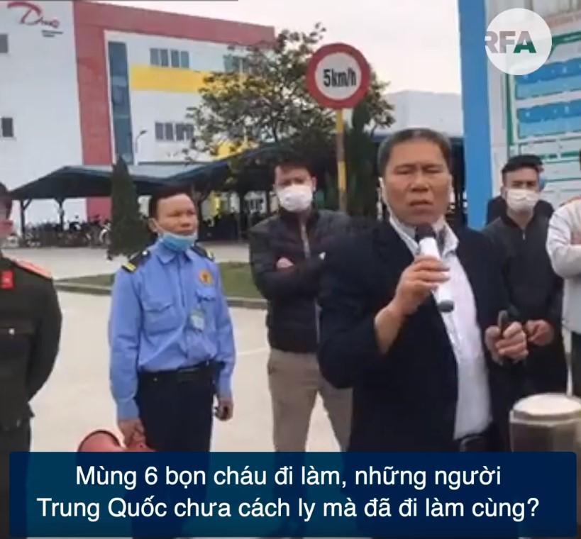 Hà Nam 5.000 công nhân 'đình công' vì phải làm việc với người TQ