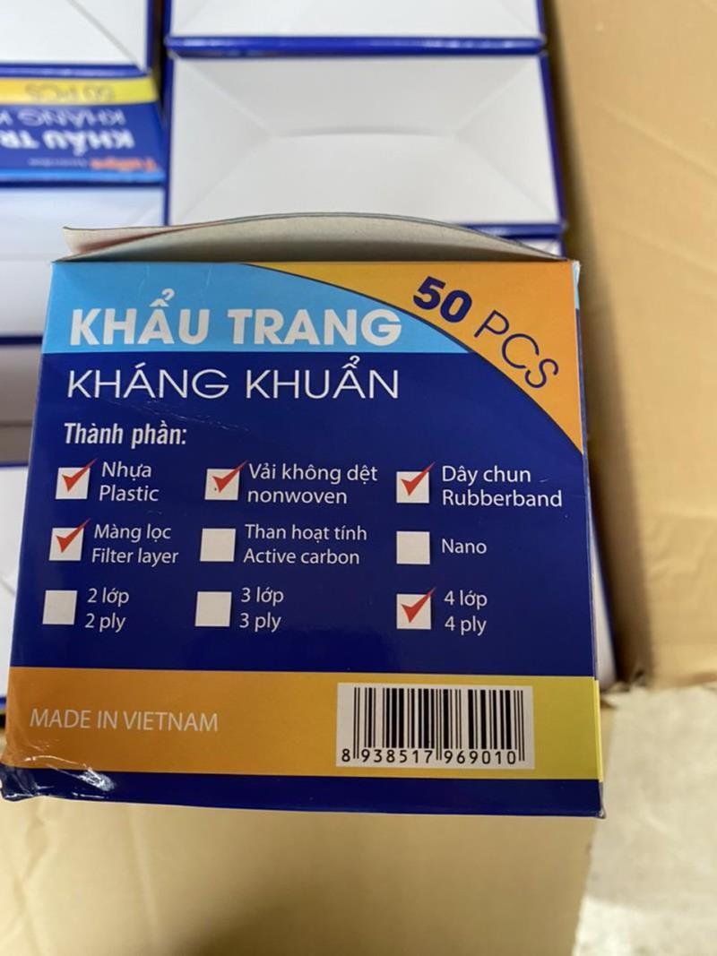 Hà Nội Phát hiện cơ sở sản xuất khẩu trang từ giấy vệ sinh 2