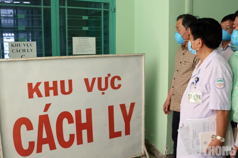 Khu cách ly, theo dõi các bệnh nhân nghi nhiễm Covid-19 tại Bệnh viện Nhiệt đới tỉnh Khánh Hòa. (Ảnh qua baogiaothong)