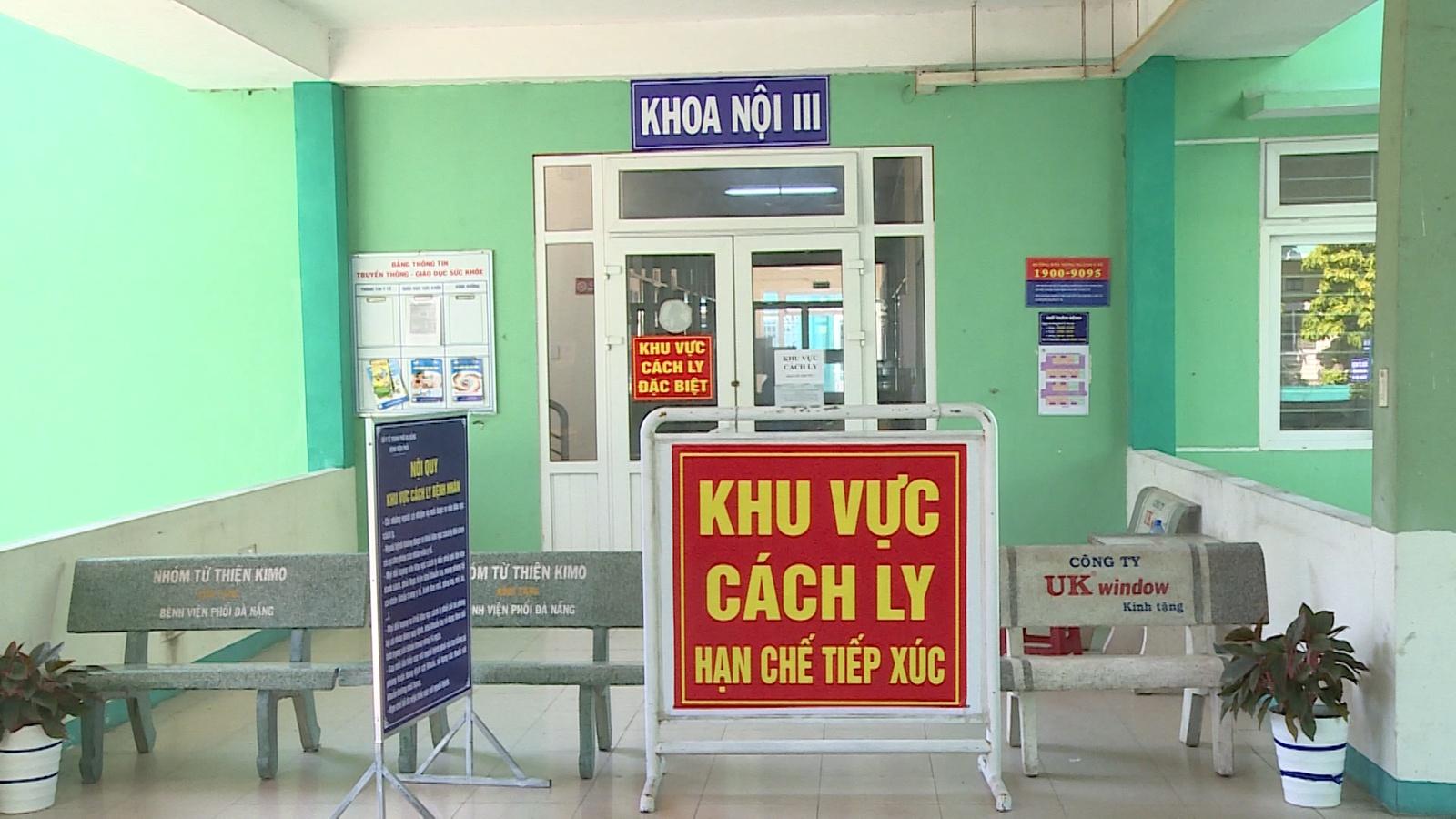 Khu cách ly Bệnh viện Đà Nẵng. (Ảnh qua Zing)