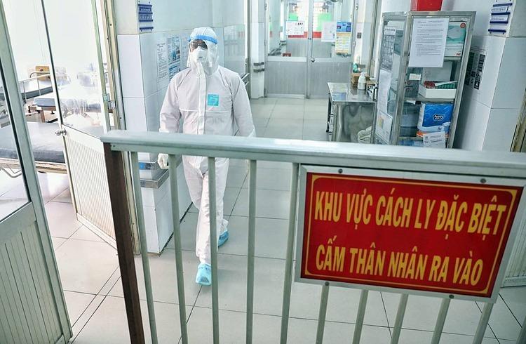 Khu vực cách ly đặc biệt tại tầng 2 Khoa Bệnh Nhiệt đới TP.HCM. (Ảnh qua vnexpress)