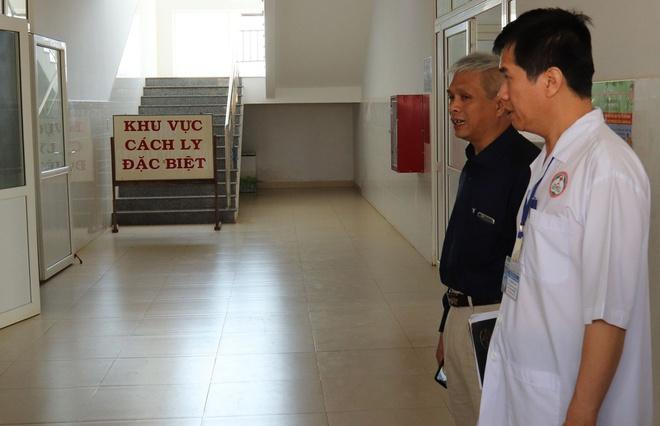 Khu vực cách ly tại Bệnh viện đa khoa vùng Tây Nguyên.